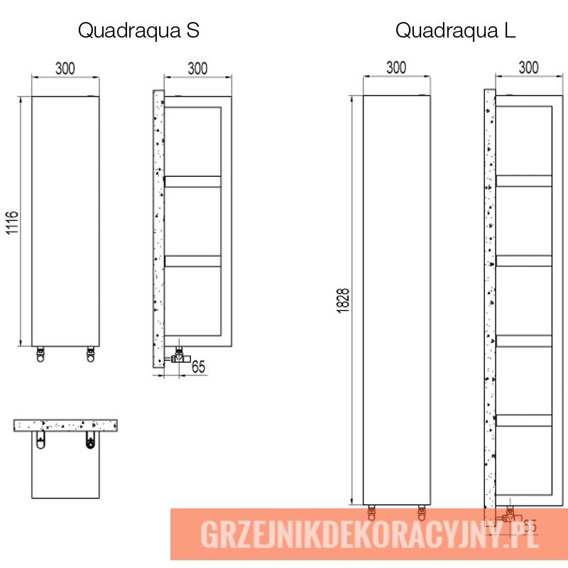 Grzejnik Quadraqua