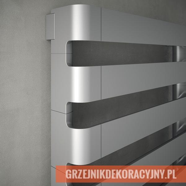 Grzejnik Irsap Step H - wersja pozioma - kolor czarny chrom