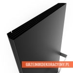 Case Slim - wersja czarna z chromowanym wieszakiem