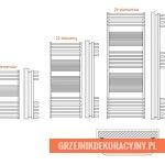 Grzejniknierdzewny Olsztyn | HeatPoint - rysunek techniczny