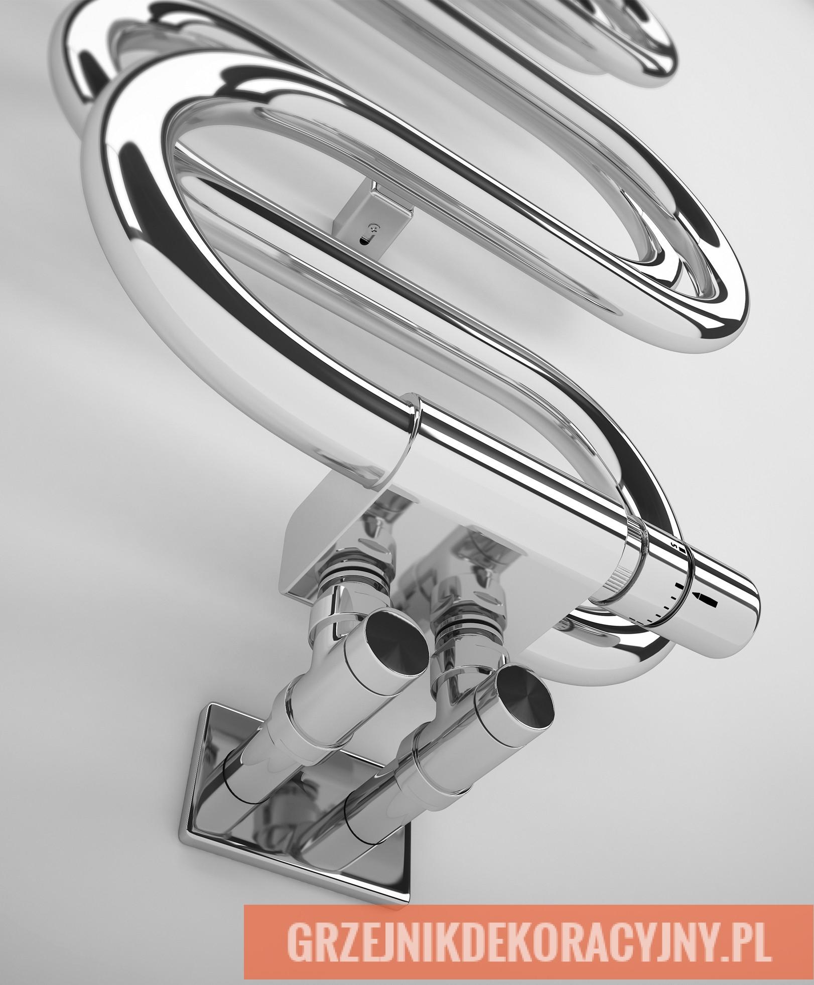 Grzejnik Perła - TERMA - podłączenie
